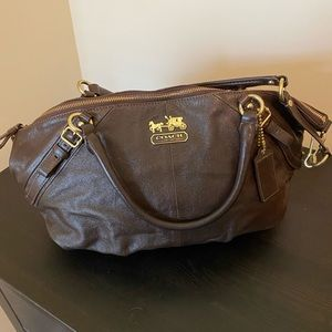Authentic COACH Leather Handbag